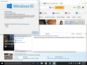 Flash Player ve Windows 10