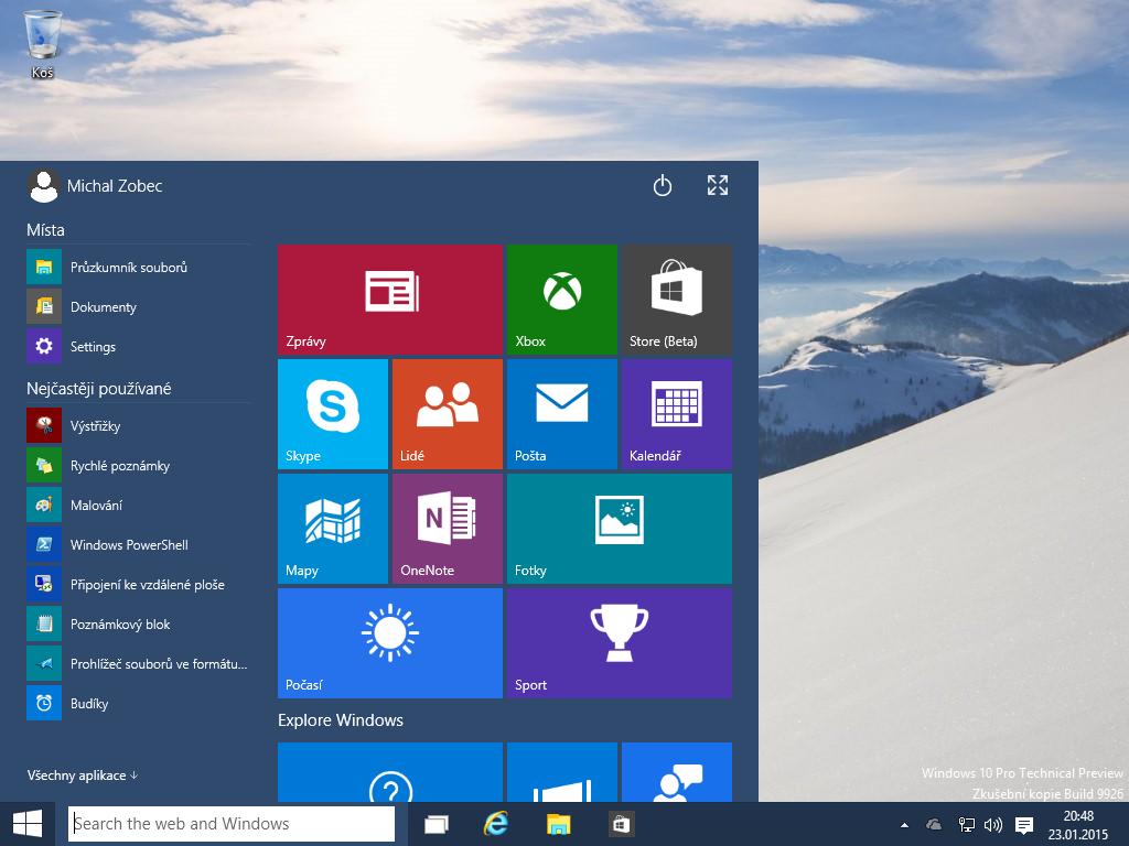 Windows 10 x64 build 150123-2015-01-23-20-48-31