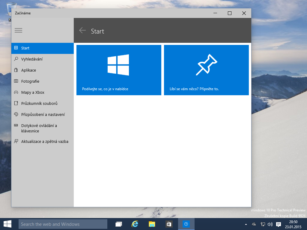 Windows 10 x64 build 150123-2015-01-23-20-50-40